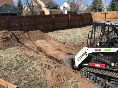 Digging begins